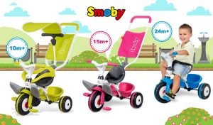 Triciclo Baby Balade Smoby