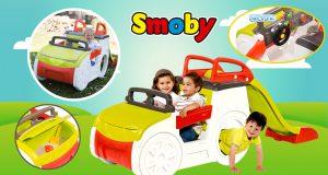 Coche Aventura de Smoby