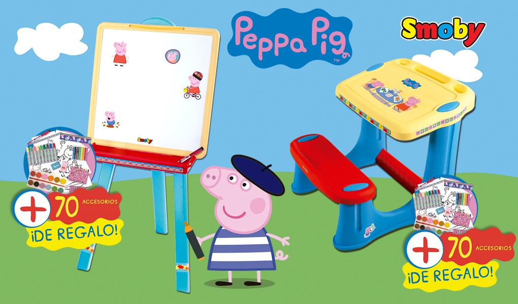 Pupitre De Peppa Pig Un Espacio De Dibujo Para Los Peques