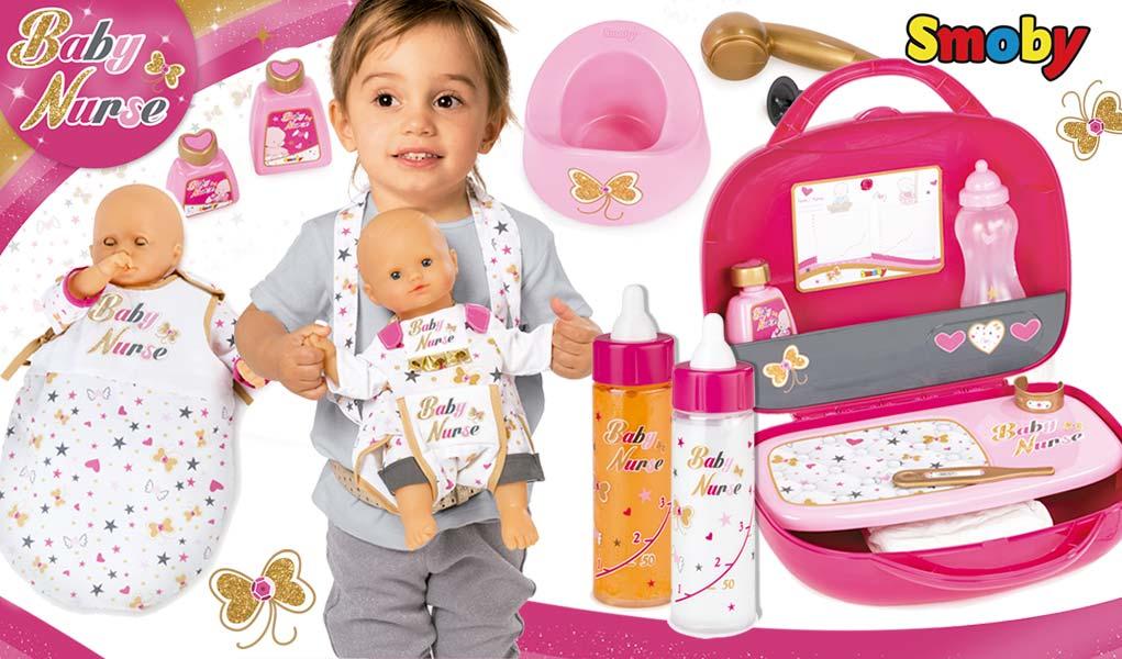 complementos baby nurse todo para jugar con mu ecos beb s. Black Bedroom Furniture Sets. Home Design Ideas