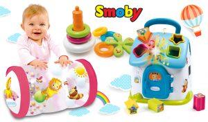 juguetes para bebés Cotoons formas y colores