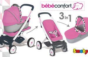 carrito de juguete bébé confort