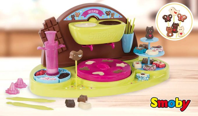 fábrica de chocolate