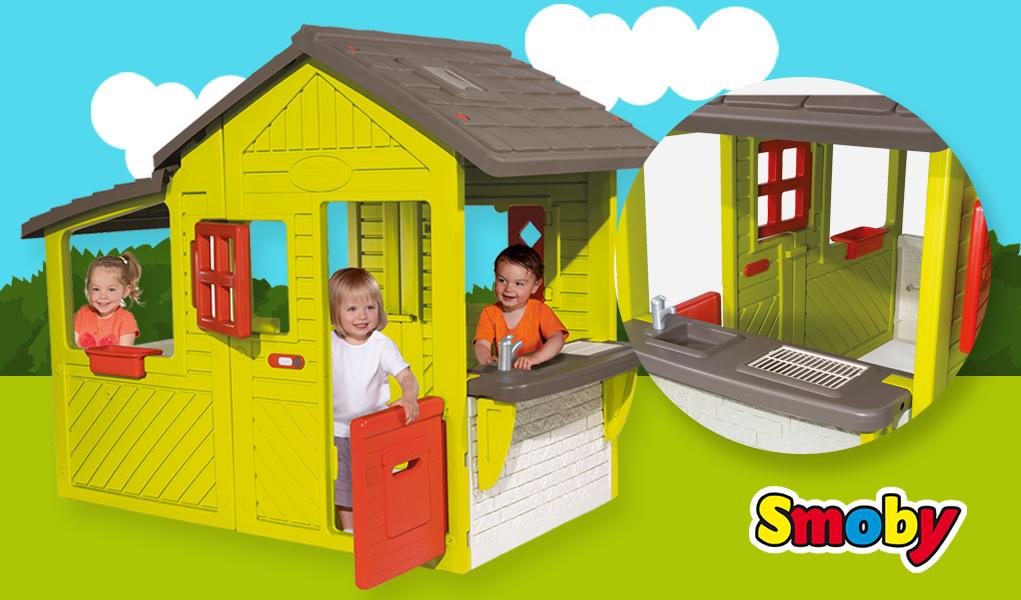 Lujo casitas infantiles de plastico bandera ideas de - Venta de casitas infantiles ...