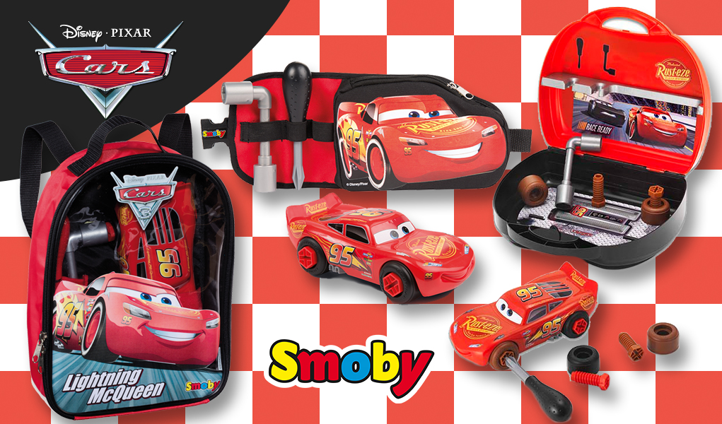 Juguetes de cars 3 construye tu propio rayo mcqueen y - Cars en juguetes ...