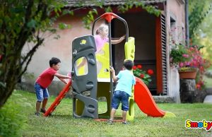 beneficios de los juegos al aire libre con los juguetes de