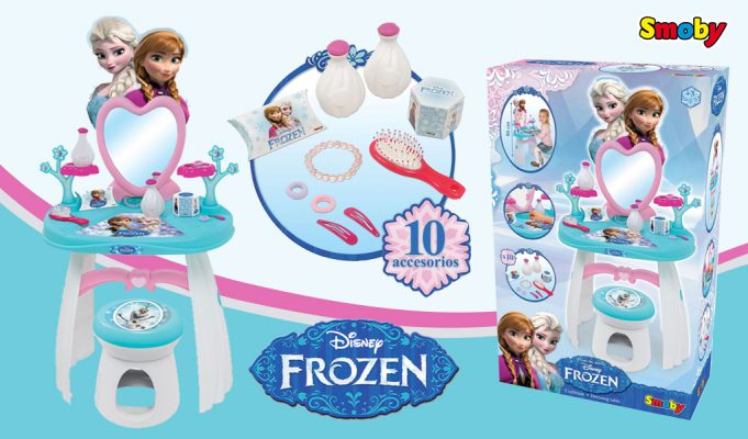 Juguetes de Frozen: Tocador de Frozen