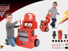 juguetes de Cars 3 Mack Track Trolley