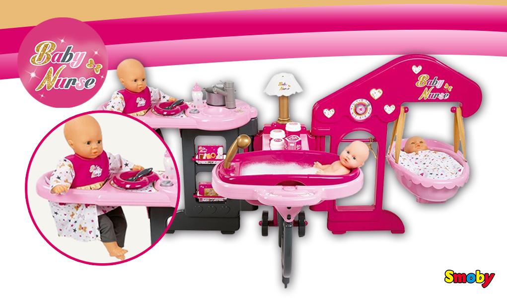 La Casa de los Bebés: jugando a las mamás y los papás -Juguetes Smoby