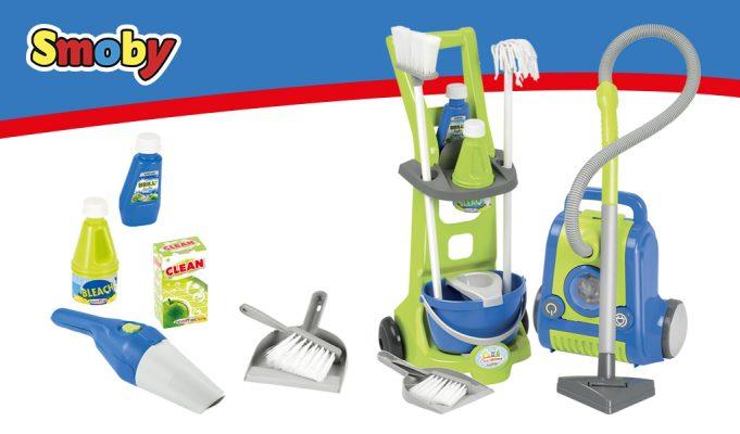juegos de imitación juguetes de limpieza