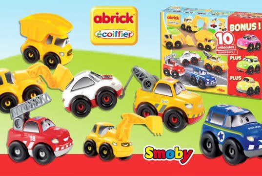 Coches de juguete de Abrick