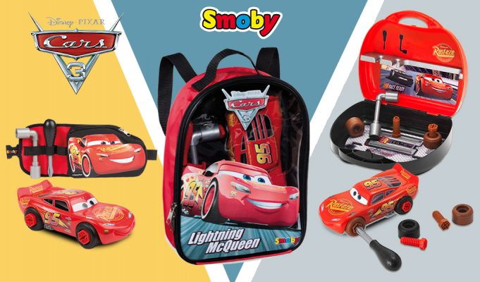 herramientas de juguete Cars 3
