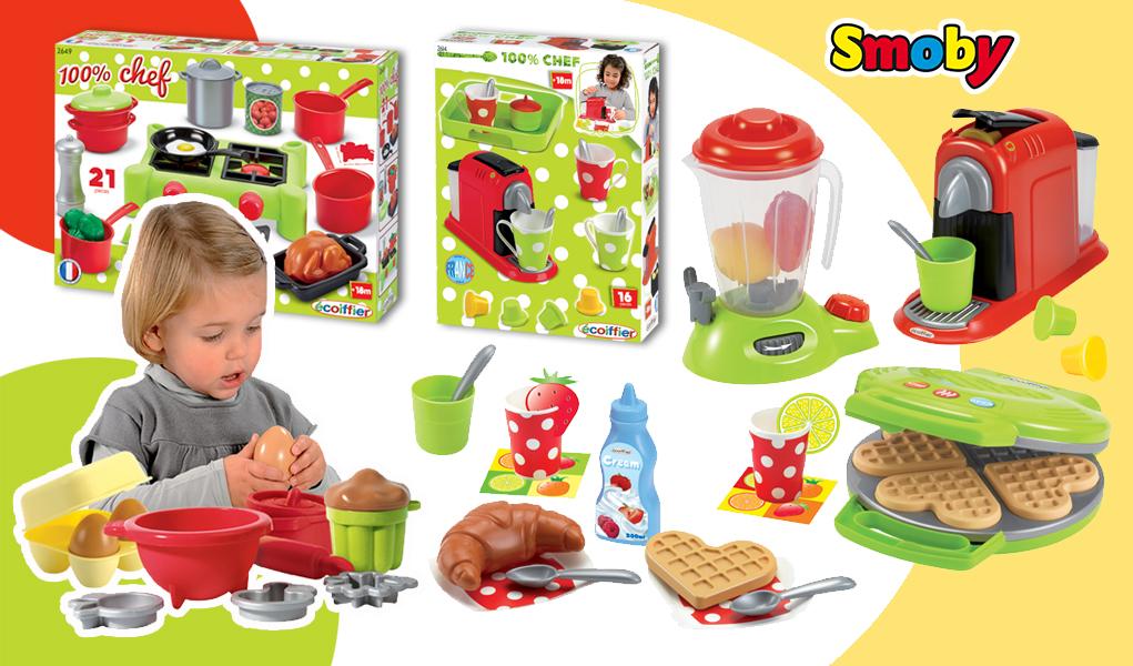 haz tu propia cocina de juguete con nuestros packs para chefs