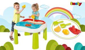 Mesa de juegos Agua y Arena