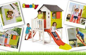 Casa de juguete de la playa