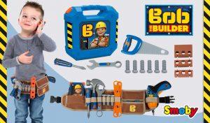 Herramientas de juguete de Bob The Builder