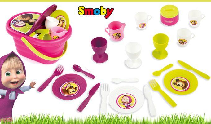 juguetes de Masha y el Oso cesta picnic