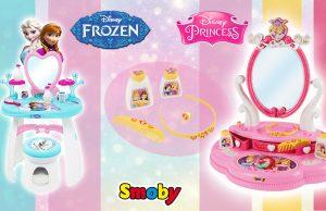 juguetes de Frozen y Princesas Disney tocadores