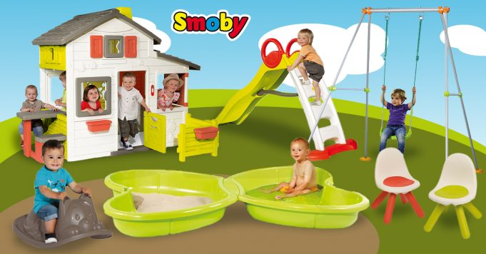 juguetes de exterior amueblar jardín