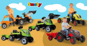 tractores de juguete Smoby