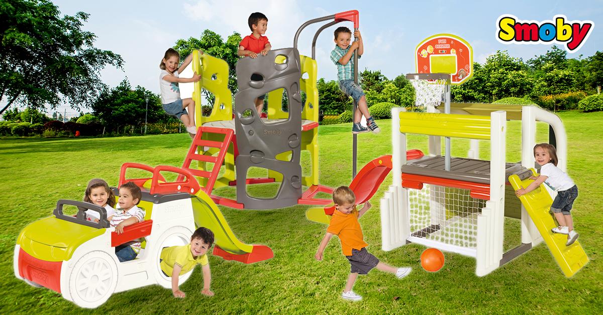 Hacemos deporte en el jard n con nuestros juguetes de exterior for Juguetes de jardin