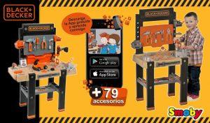 herramientas de juguete bancos de trabajo Black&Decker