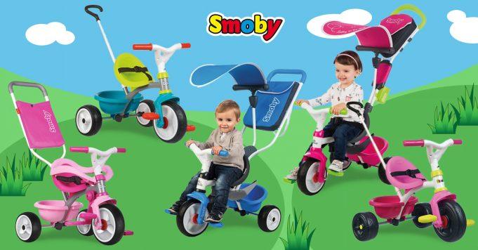 triciclos Smoby
