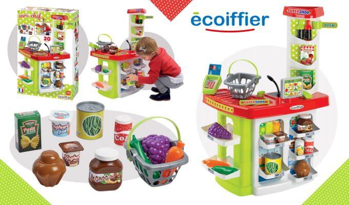 supermercado de juguete Ecoiffier