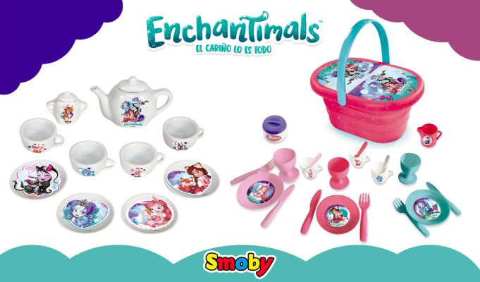 juguetes de Enchantimals merienda