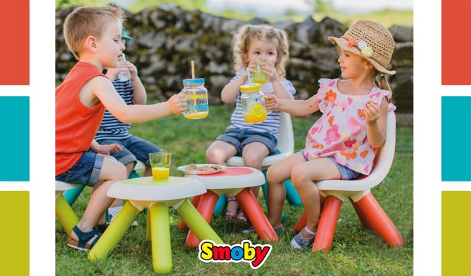 mesas y sillas para niños Smoby