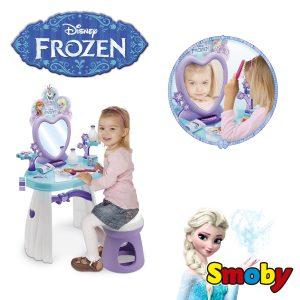 tocador de frozen de smoby