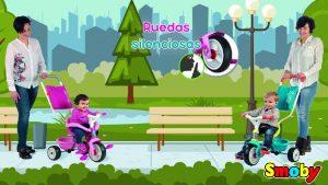 triciclo be move confort de smoby