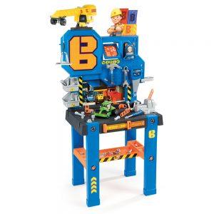 centro de bricolaje con grua de bob el constructor juguetes para regalar estas navidades