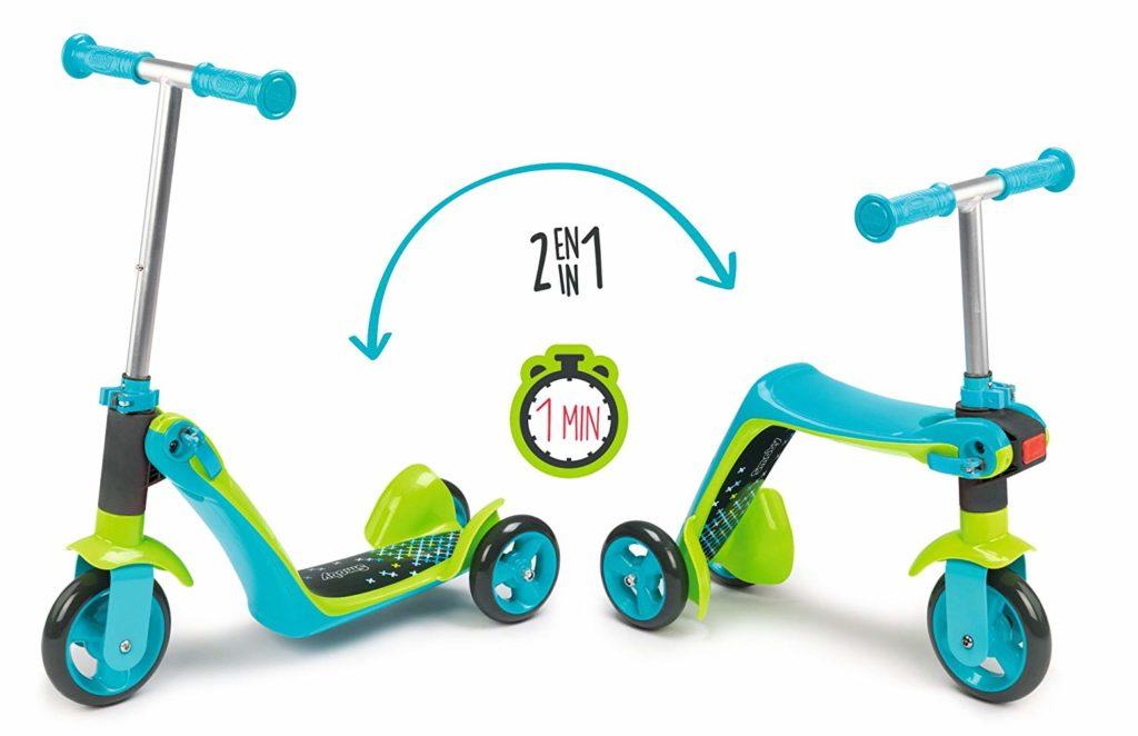 Correpasillos patinete reversible 2 en 1 Triciclo ideas de regalo Smoby