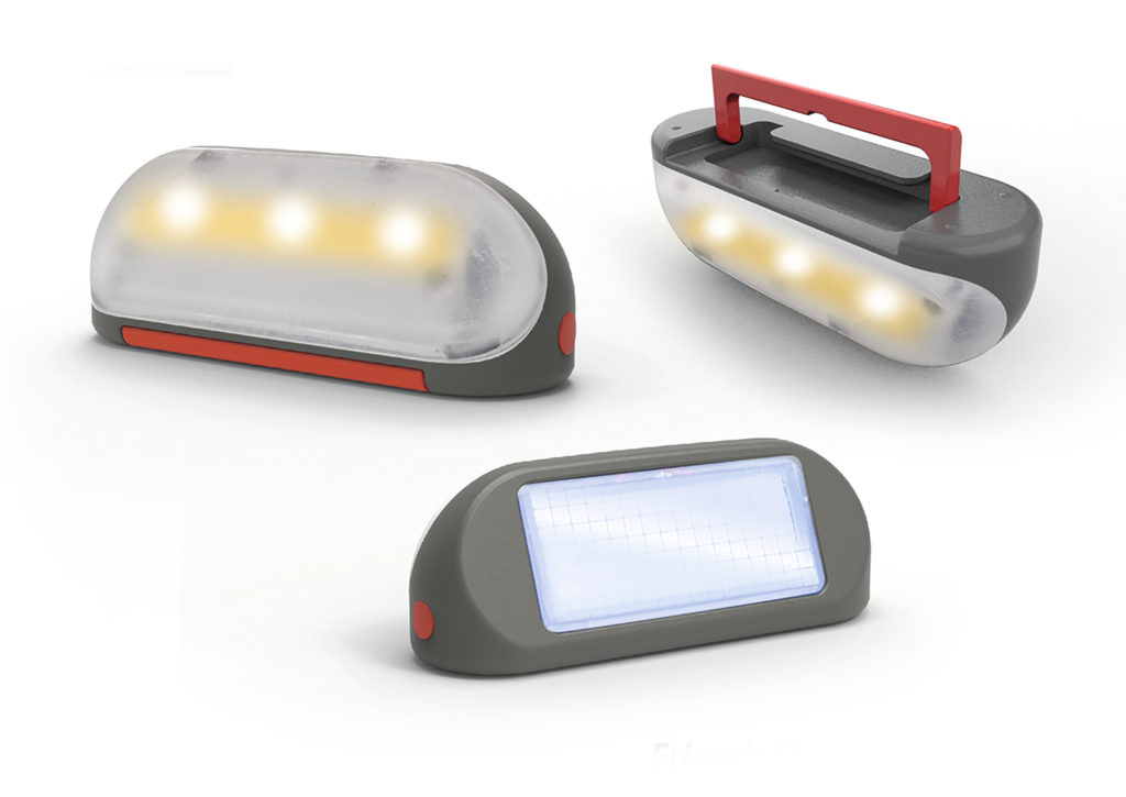 Lámpara solar casitas Smoby