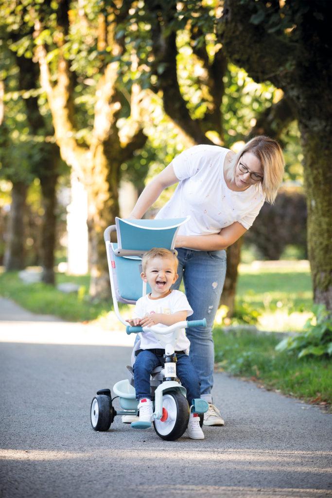 Beneficios de los triciclos en niños